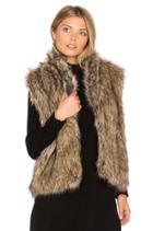Pruce Faux Fur Vest