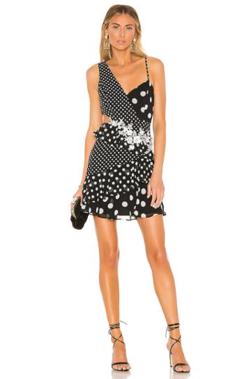 Polka Dot Cut Out Dress