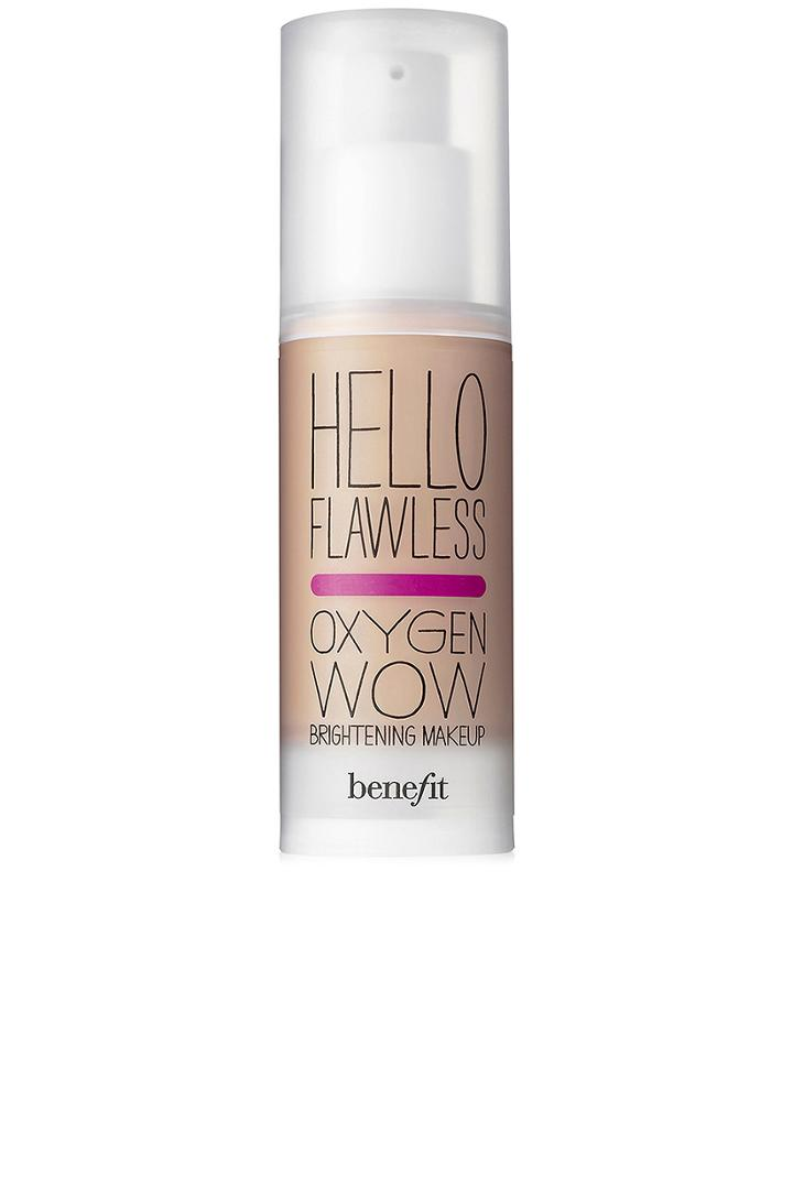 Hello Flawless! Oxygen Wow Liquid Foundation