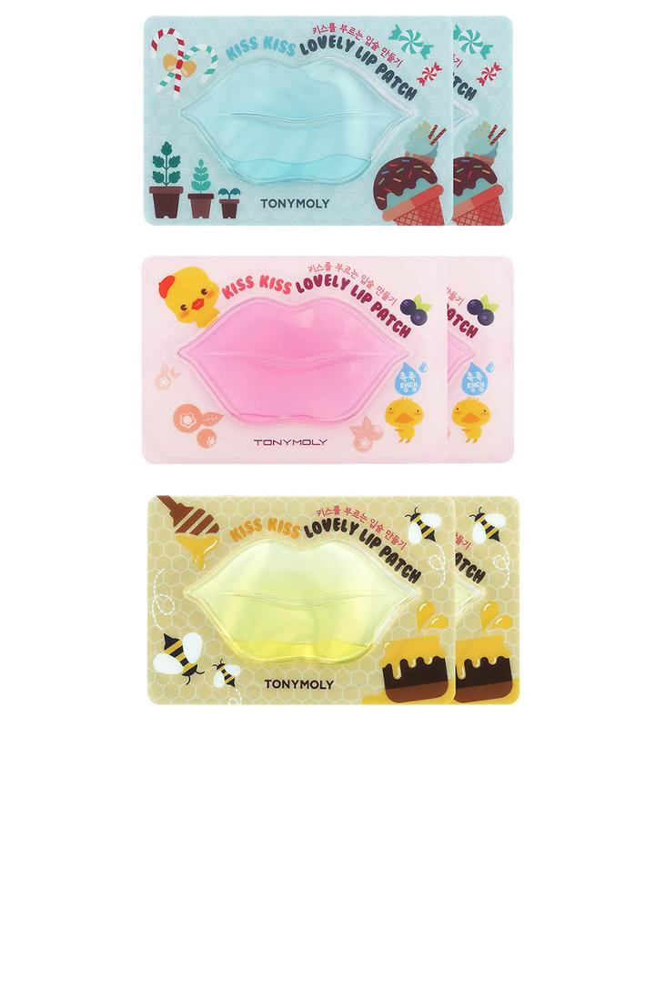 Kiss Kiss Lip Patch Set