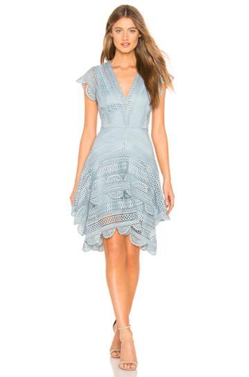 Ode Lace Mini Dress