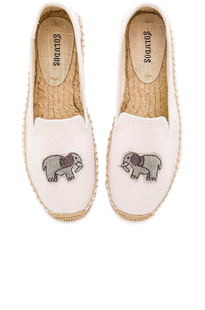 Elephant Beaded Smoking Slipper