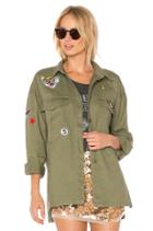 Patched Army Jacket