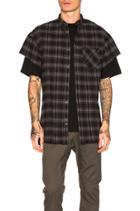 Rugger Cut Sleeve Shirt