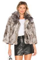 Fur Collar Rabbit Jacket