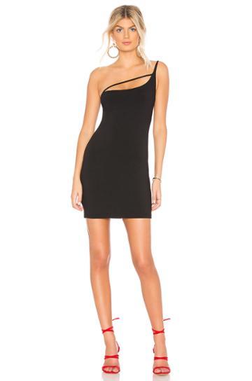 Strap Detail One Shoulder 16 Dress