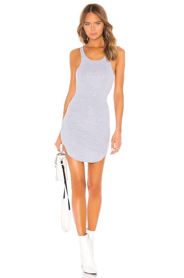Shea Crystals Tank Mini Dress