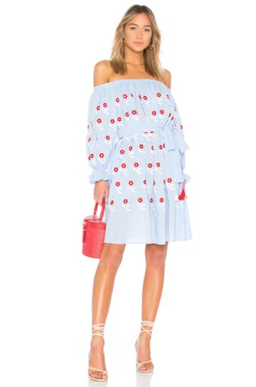 Flower Power Mini Dress