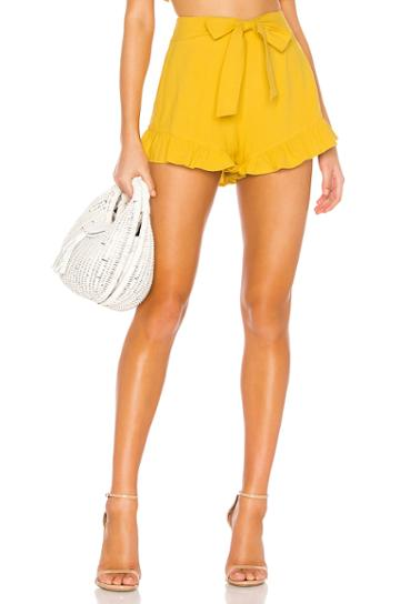Camille Tie Front Frill Short