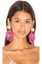 Pasionaria Flower Earrings