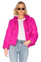 Lover Hooded Puffer Jacket