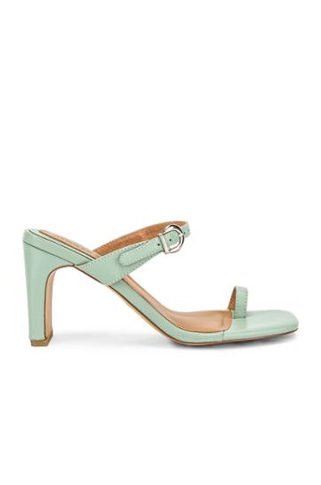 Contemporary Leather Heel
