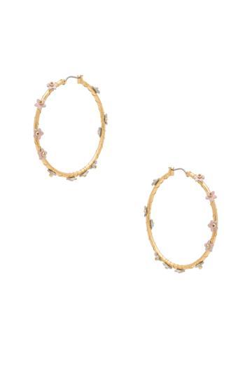 Calla Hoop Earrings