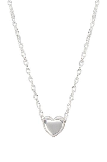 Adjustable Heart Charm Necklace