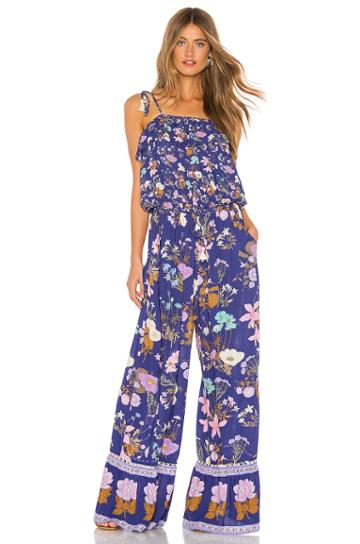Wild Bloom Strappy Pantsuit
