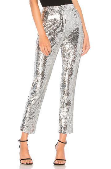Sequins High Waist Skinny Pant