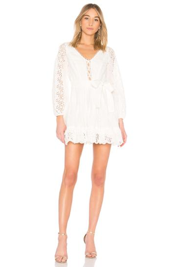 Helm Eyelet Vine Dress