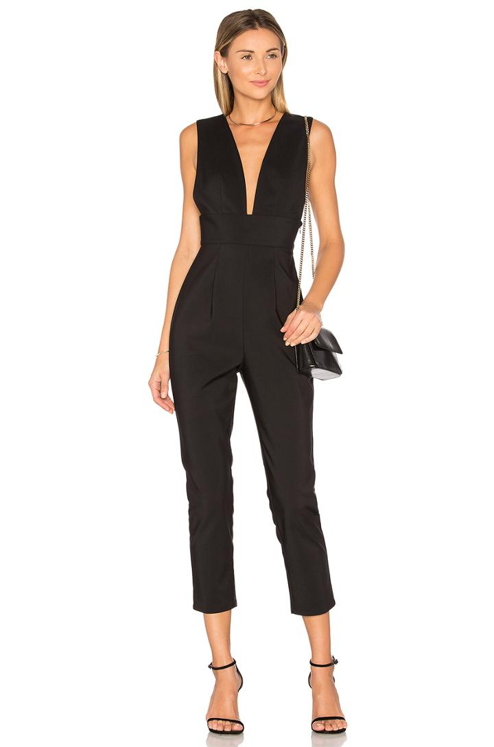Gloria Deep V Jumpsuit