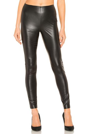 Stretch Faux Leather Legging