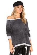Cashmere Reverse Printed Pullover