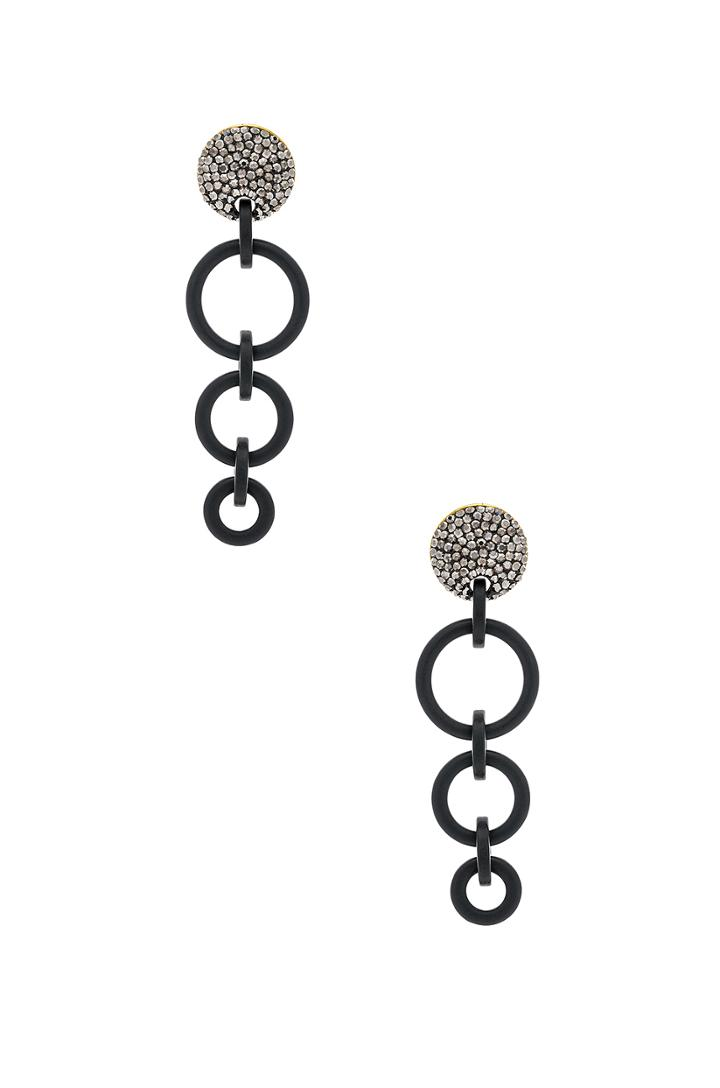 Wind Chime Hoop Earrings