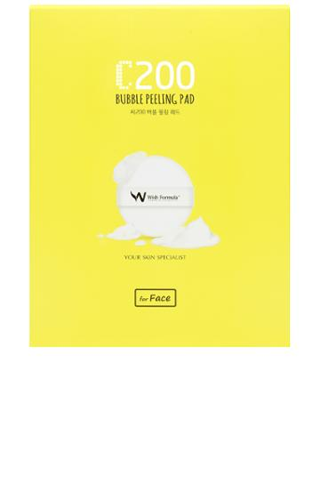 C200 Bubble Peeling Pad For Face 4 Pack