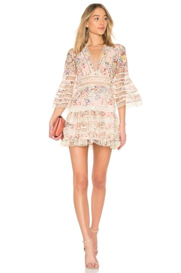 Lovelorn Floral Flutter Dress