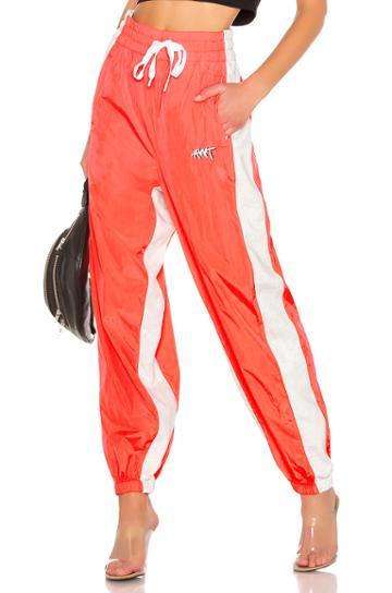 Washed Nylon Pants