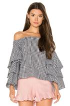 X Revolve Tiered Top
