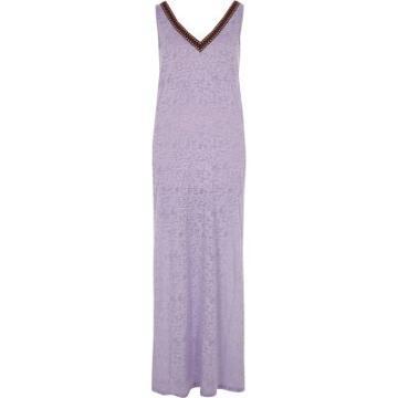 River Island Womens Tassel Cut Out Maxi Beach Dress
