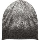 River Island Mensblack Faded Roll Edge Beanie Hat