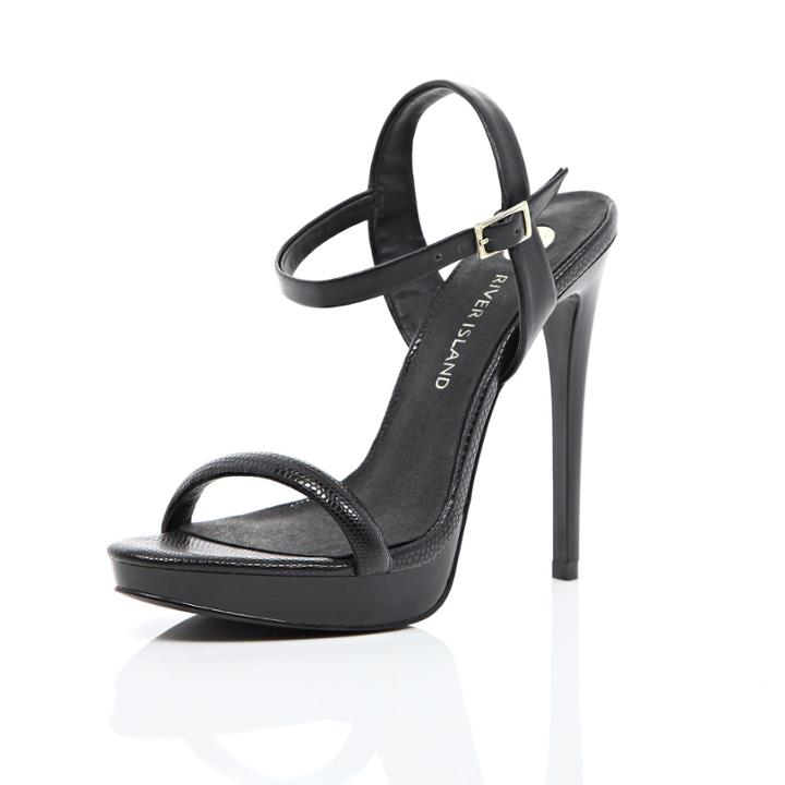 River Island Womens Strappy Barely There Heels