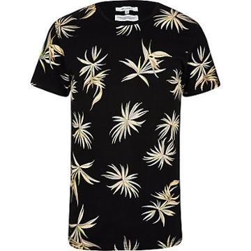 Mens Bellfield Floral Print T-shirt