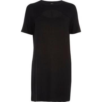 River Island Womens Keyhole Cut Out T-shirt Dress