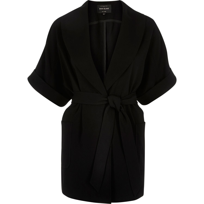 River Island Womens Belted Kimono Jacket