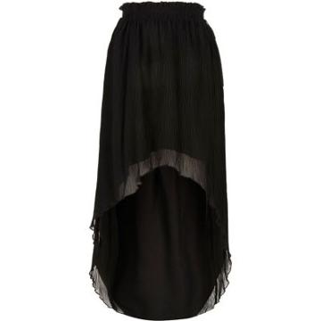 River Island Womens Pleated High-low Maxi Skirt