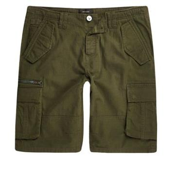River Island Mens Cargo Pocket Shorts
