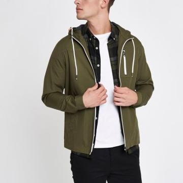 River Island Mens Only And Sons Hooded Jacket