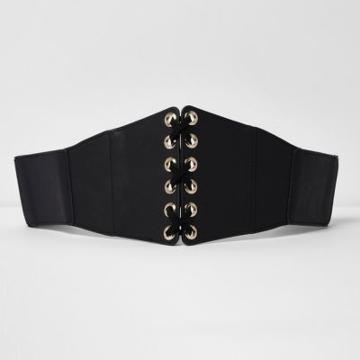 River Island Womens Leather Look Corset Belt
