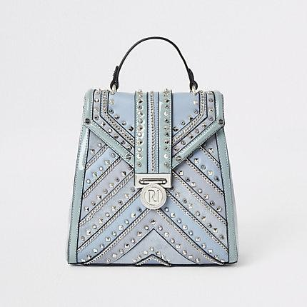 River Island Womens Studded Backpack