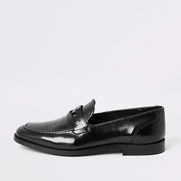 River Island Mens Leather Loafers