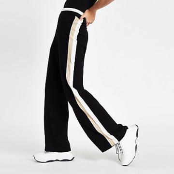 River Island Womens Knit Side Stripe Varsity Pants