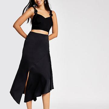 River Island Womens Asymmetric Midi Skirt