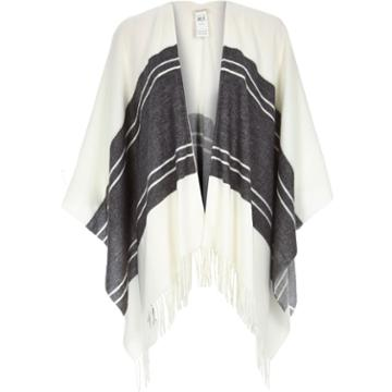 River Island Womens Print Throw Over Cape