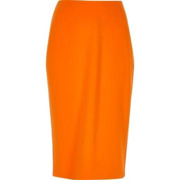 River Island Womens Midi Pencil Skirt