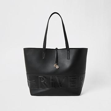 River Island Womens 'river' Embossed Shopper Bag