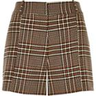 River Island Womens Checked Woven Shorts