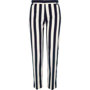 River Island Womens Stripe Cigarette Trousers