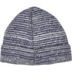 River Island Mensblue Beanie Hat