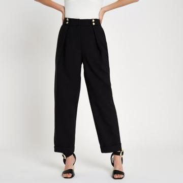 River Island Womens Button Peg Trousers